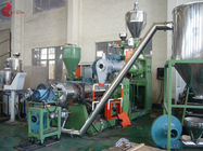 185 KW Two Stage PVC Plastic Pelletizing Line 60rpm , Pellet Maker Machine