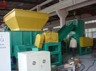 Aluminum Castings Profiles plastic waste shredding machine / single shaft shredder
