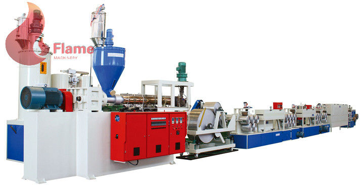 PLC System Multi - stripe pet strap making machine Of Recycled