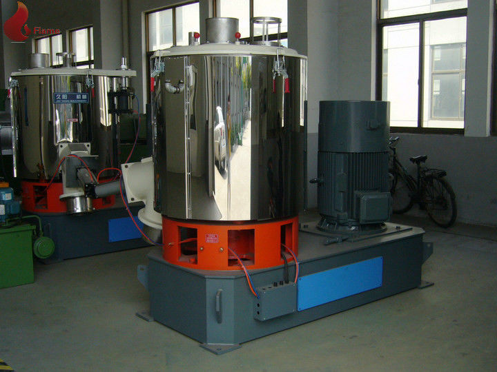 1000L 7.5Kw Cooling High Speed Mixer With Spiral Bevel Gear Reducer