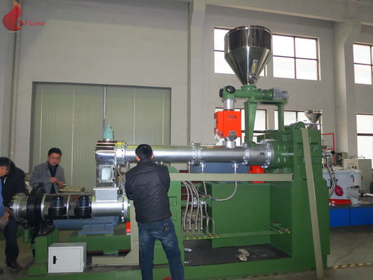 Wearable Insulate Plastic Recycle Machine Smooth Surface Plastic Extruder PRE-255/300
