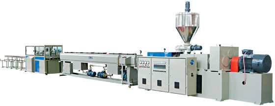 Lower Water Pipes pvc extrusion line 16-160mm with Variable frequency motor