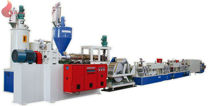 Recycled PET Strap Production Line Hydraulic , high speed strapping machine