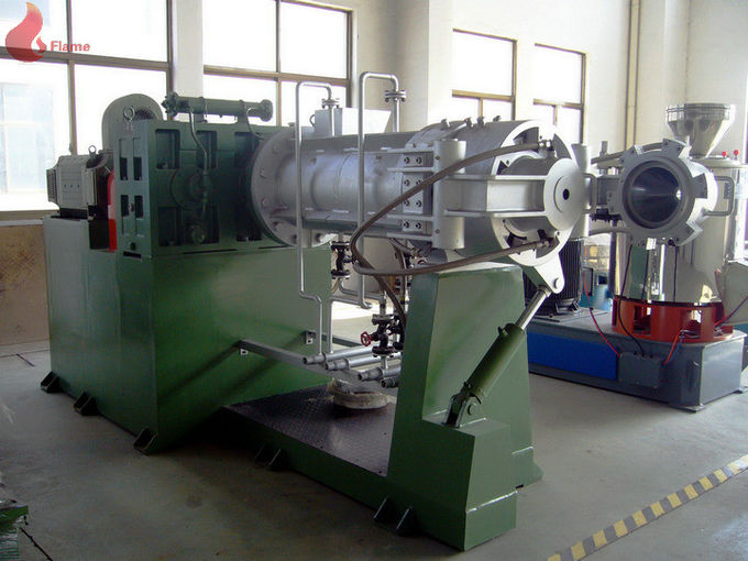 Continuous Vulcanizing Strainer Extruder Machinery With Double Die Head