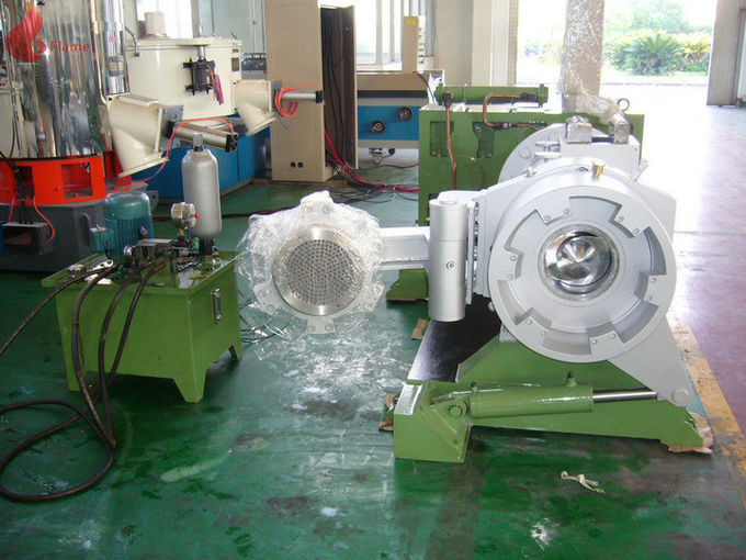 Silicagel Impurity Filtrating Silicone Rubber Strainer Extruder Machine with Cooling water