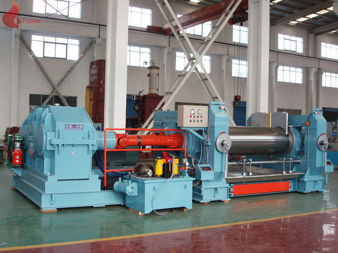 Electric EVA PVC Rubber Plastic Open mill Equipment With Oil Sealed Type