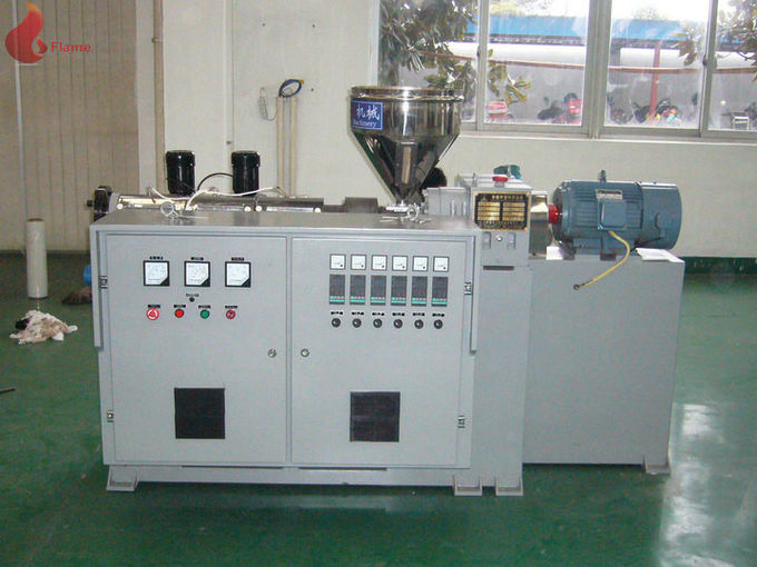 PS / ABS / PVC single screw extruder machine with Inverter motor